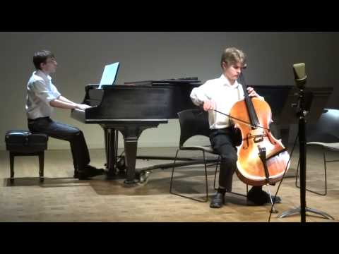 My student Mason Kamb age 13 after 2 1/2 years of lessons at our bi annual cello recital given here in Seattle.