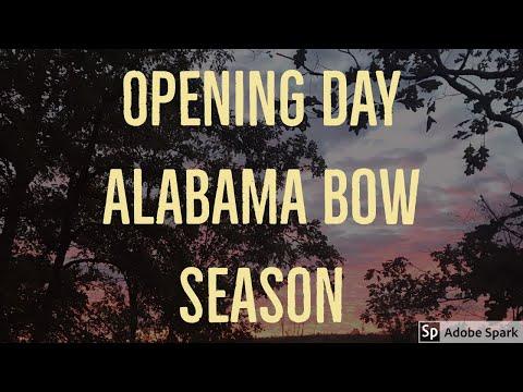 Alabama Bow Hunting | Opening Day At Brandon's Hunting Club