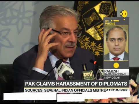 Pakistan claims harassment of diplomats; Indian diplomats facing harassment since long