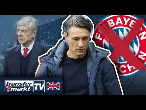 Bayern part Ways with Kovac – Wenger favourite for Bayern Munich job – Football Transfers & News