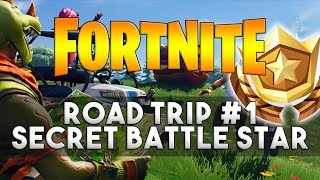 Road Trip SECRET BATTLE STAR Week 1 Location - Fortnite Season 5 Challenges