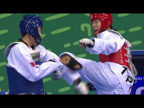 Güney Kore takımı taekwondoda 7 madalya aldı - sport - YouTube