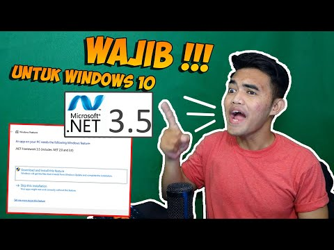 ENABLE !!! Install NET Framework 3.5 Di Windows 10 Offline | UPDATE 2020