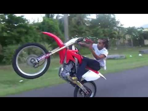 Riding around East Nassau, Bahamas