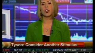Consider Another Stimulus - Tyson - Bloomberg