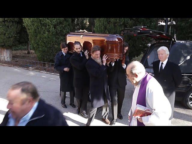 Último adiós a la Condesa de Romanones