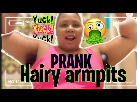 Hairy Armpit PRANK| My Mom Went NUTS