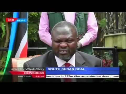 South Sudan government and rebel forces sign deal to settle security