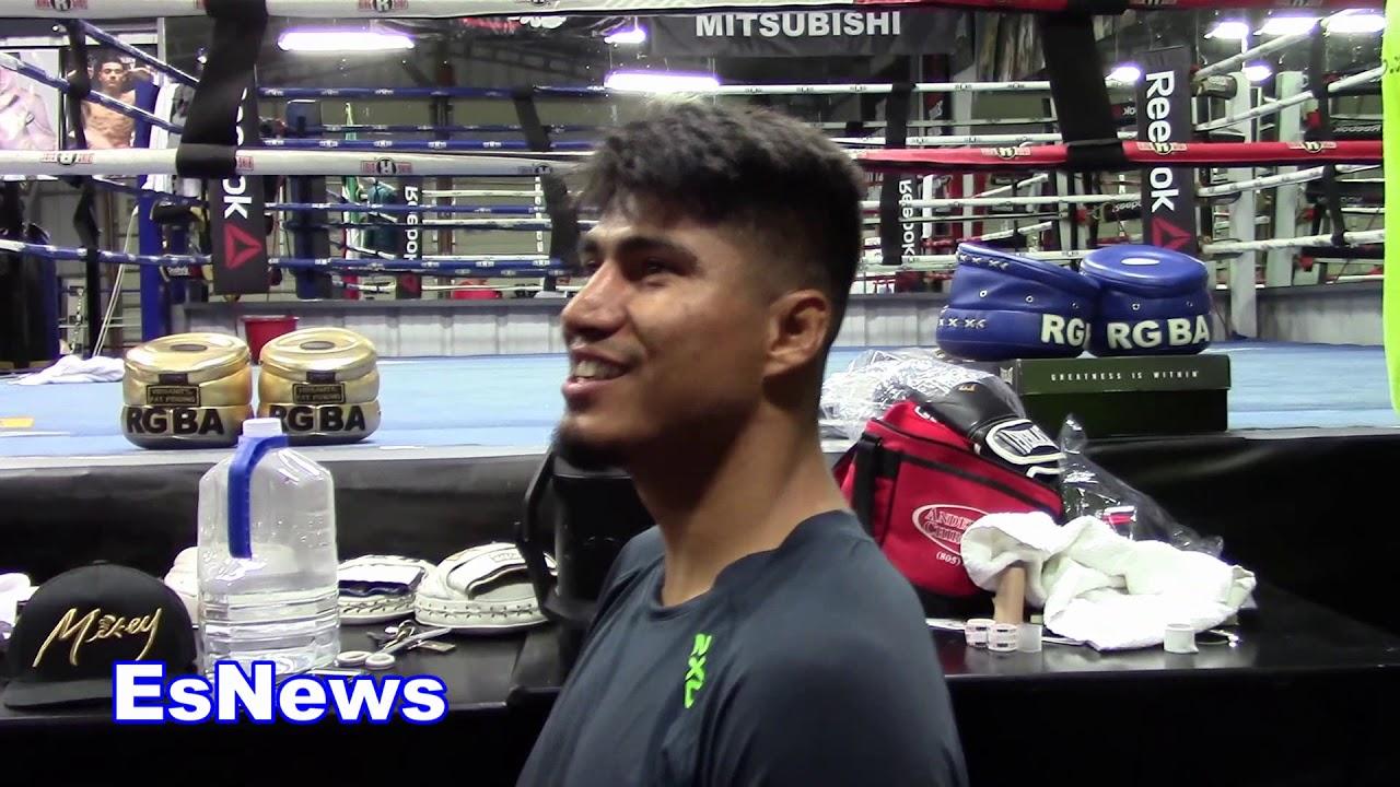 Mikey Garcia Answers Those Who Say He Has No Chance vs Errol Spence