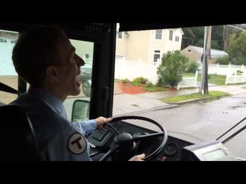 Watch: MBTA Bus Driver John Lohan On The Job