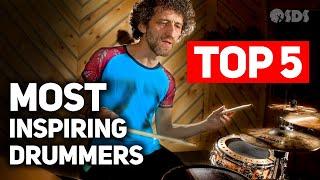 5 Unbelievably Inspiring Drummers