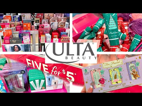 ULTA SHOPPING!!!🎄CHRISTMAS GIFT SETS, $1 STOCKING STUFFERS + GIFT IDEAS!!!