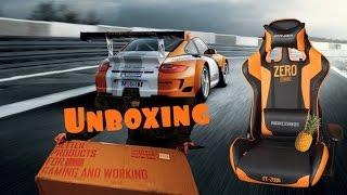dx racer fe zero chair unboxing