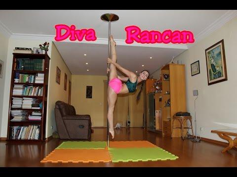 Diva Rancan - Tutoriais de Pole Dance por Alessandra Rancan