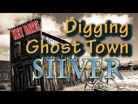 Oklahoma Ghost Town Metal Detecting RARE DIME!