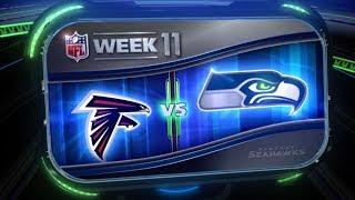 Week 11: Seahawks vs Falcons Key Matchups