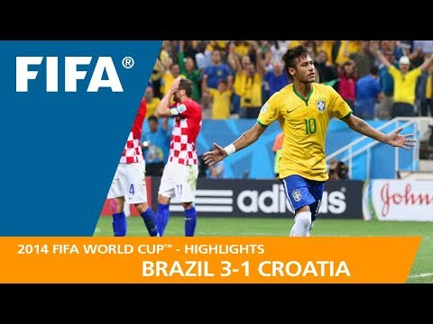 BRAZIL v CROATIA 3:1    2014 FIFA World Cup™