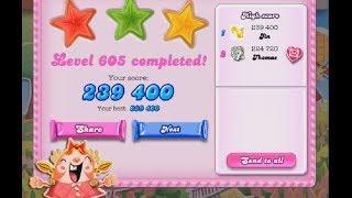 Candy Crush Saga Level 605 ★★★ NO BOOSTER