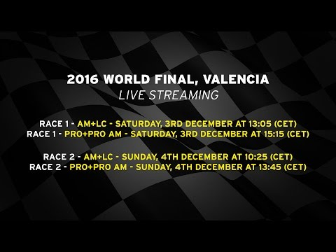2016 Lamborghini World Final PRO+PRO AM, Valencia - Live streaming Race 2