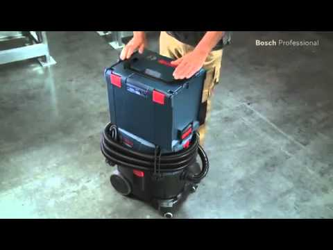 aspirateur de chantier gas 35 l afc bosch youtube. Black Bedroom Furniture Sets. Home Design Ideas