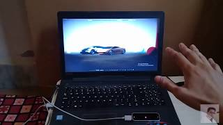 Lamborghini controls using Leap Motion Controller - Three JS