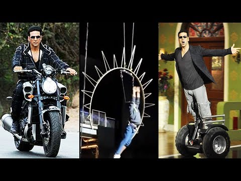 Akshay Kumar's REAL & LIVE Stunts   Bollywood Actor STUNTS Video 2018