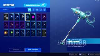 New LEAKED SQUID STRIKER PICKAXE Coming To FORTNITE