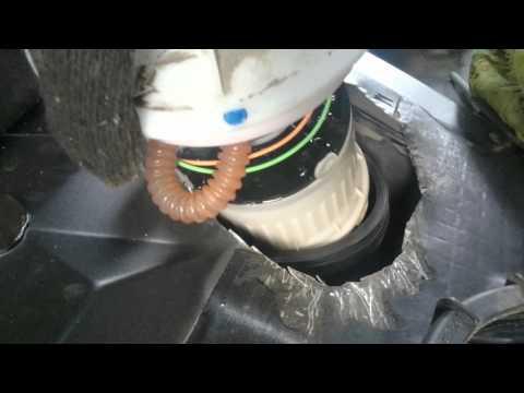 Извлечение насоса с заменой фильтра,Форд Фокус 2