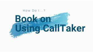 Employee Book on via CallTaker