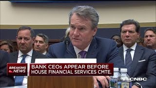 Bank of America CEO Moynihan: We are heavily involved in small business