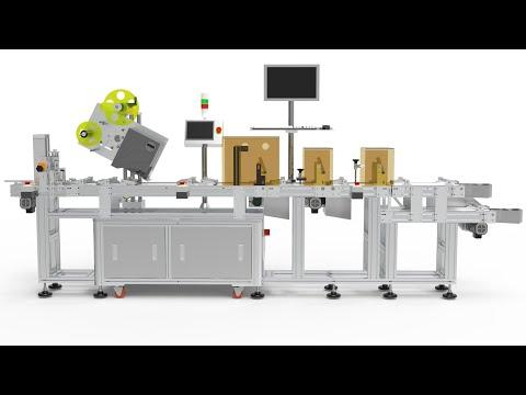 Auto Hang Tag Labeling Machine Skilt