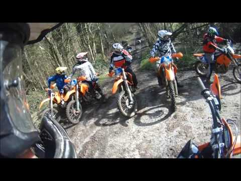 Lads and Dad's Trail Riding in Wales
