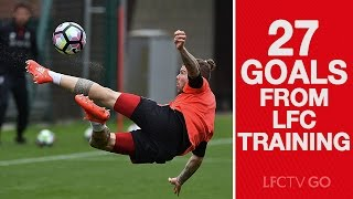 27 goals from Liverpool FC training