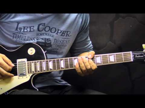 Gary Moore - Oh Pretty Woman - Blues Guitar Cover