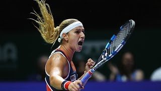 Dominika Cibulkova vs Svetlana Kuznetsova | 2016 WTA Finals Singapore Semifinal Highlights