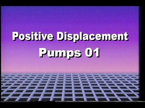 1970's NUS training Series Positive Displacement Pumps, Unit One