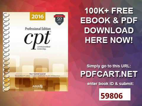 CPT 2016 Professional Edition Current Procedural Terminology, Professional Ed  Spiral Current Proced