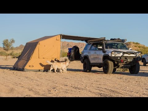 Geo Adventure Gear Awning Tent