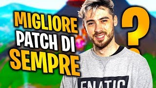 The BEST PATCH OF ALWAYS?!?! | FORTNITE ITA