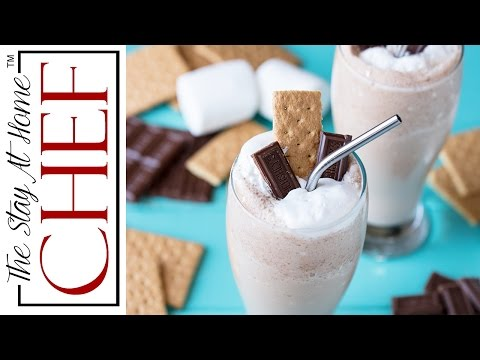 How to Make S'mores Frappes