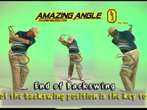 Amazing Angle Golf Swing Trainer