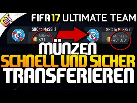 FIFA 17: Coins auf anderen Account transferieren | sicher und schnell!