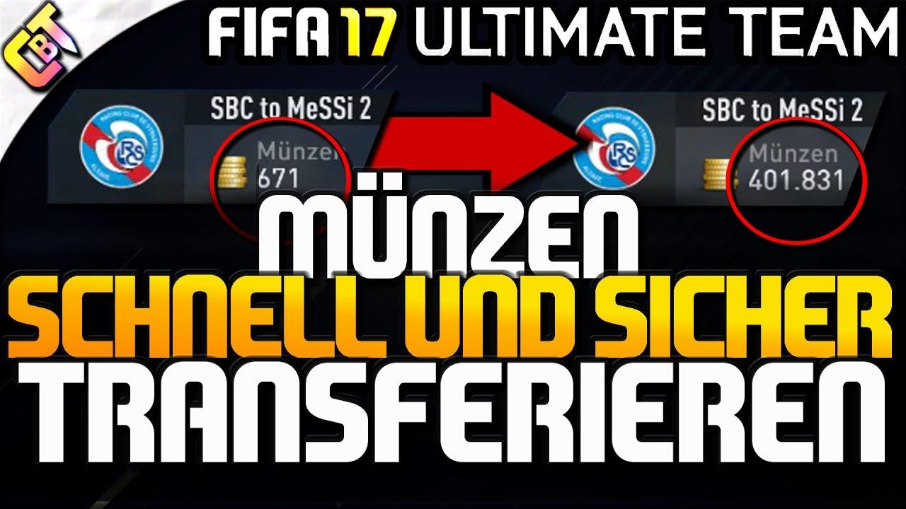 Fifa 17 Coins Auf Anderen Account Transferieren Sicher Und