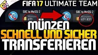 FIFA 17: Coins auf anderen Account transferieren   sicher und schnell!