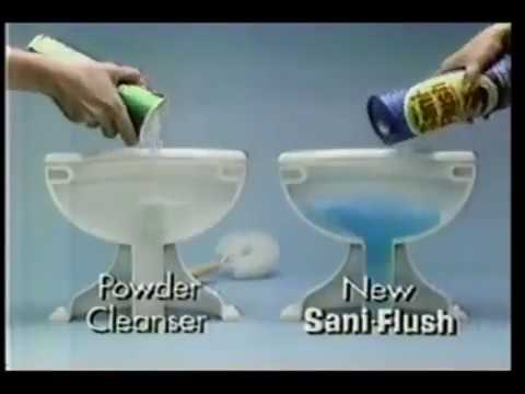 1980 Sani Flush Commercial - YouTube