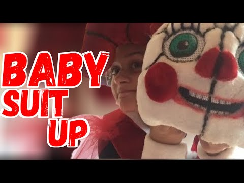 Baby cosplay suit up