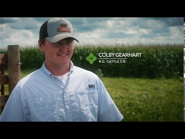 Teen farmer featured in Farm Credit video series