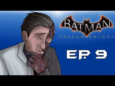 "Batman: Arkham Knight! ""Two-Face Attacks!"" (Episode 9) Fear Gas Released!"