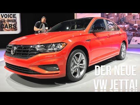 2018 Volkswagen Jetta - Informationen & Fakten - Voice over Cars News VW Jetta NAIAS 2018