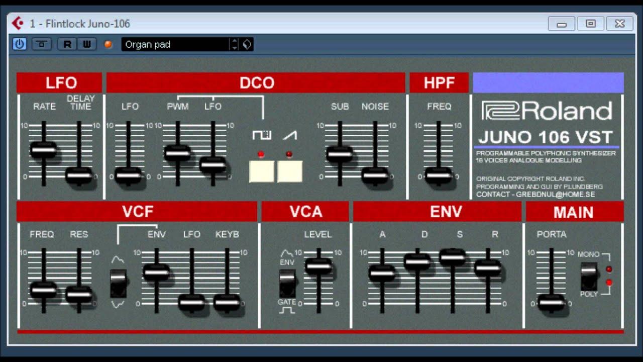 Juno 106 vst free